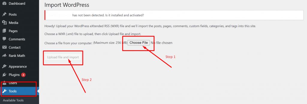 Screenshot 35 2 How To Reinstall WordPress? 4 Best Methods To Follow