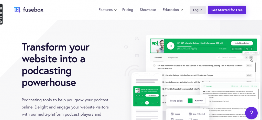 Screenshot 57 Start And Grow Your Podcast Using WordPress In 2021 [Guide]