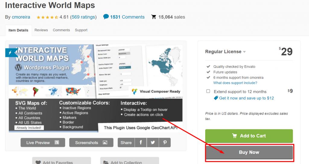 Screenshot 6 2 Top 25 Best WordPress Map Plugins For Website In 2021