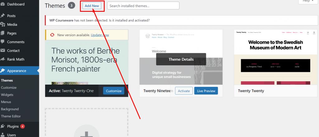 Screenshot 26 1 How To Install WordPress Theme? (3 Easy Methods)