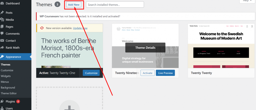 Screenshot 26 How To Install WordPress Theme? (3 Easy Methods)