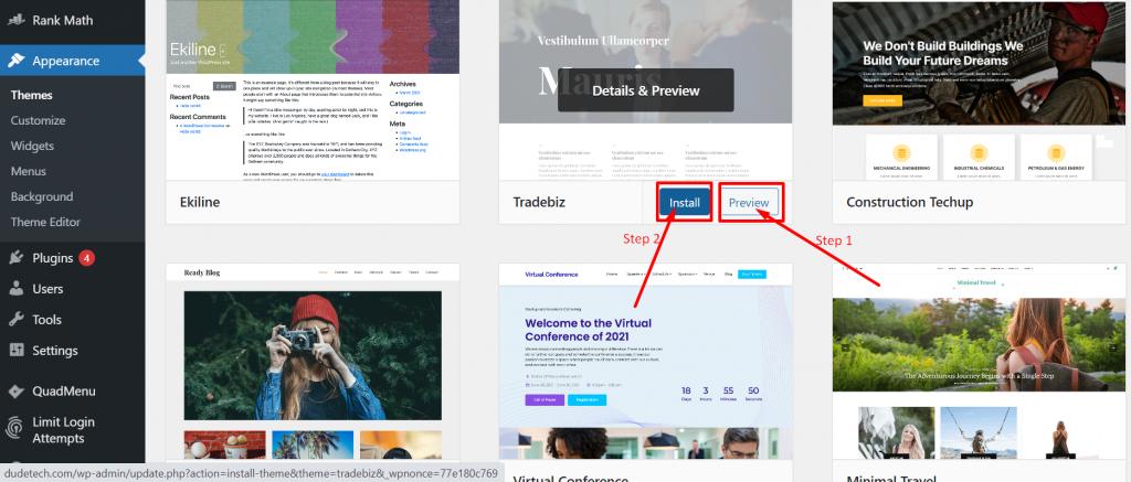 Screenshot 28 How To Install WordPress Theme? (3 Easy Methods)
