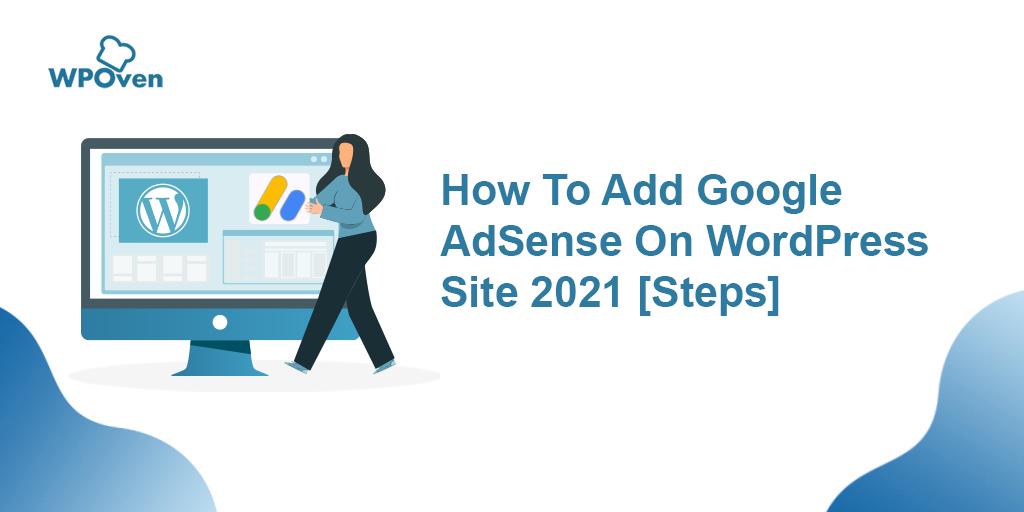 add google adsense on wordpress website