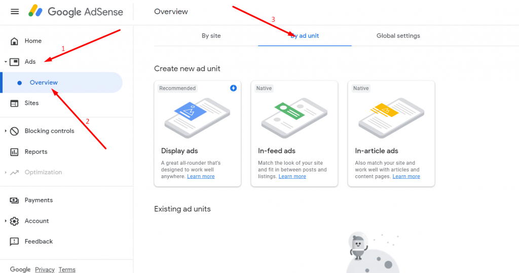 Screenshot 11 How To Add Google AdSense On WordPress Site 2021 [Steps]
