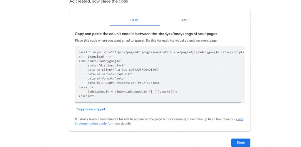 Screenshot 13 How To Add Google AdSense On WordPress Site 2021 [Steps]