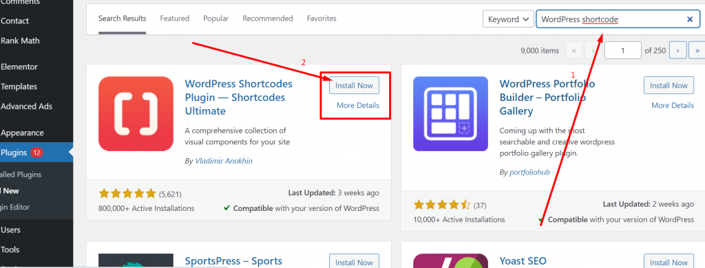 Screenshot 21 1 WordPress Shortcodes: The Ultimate Guide On Using It In 2021