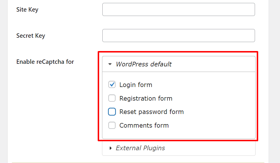 Screenshot 10 How to Enable WordPress Captcha to your WordPress Site