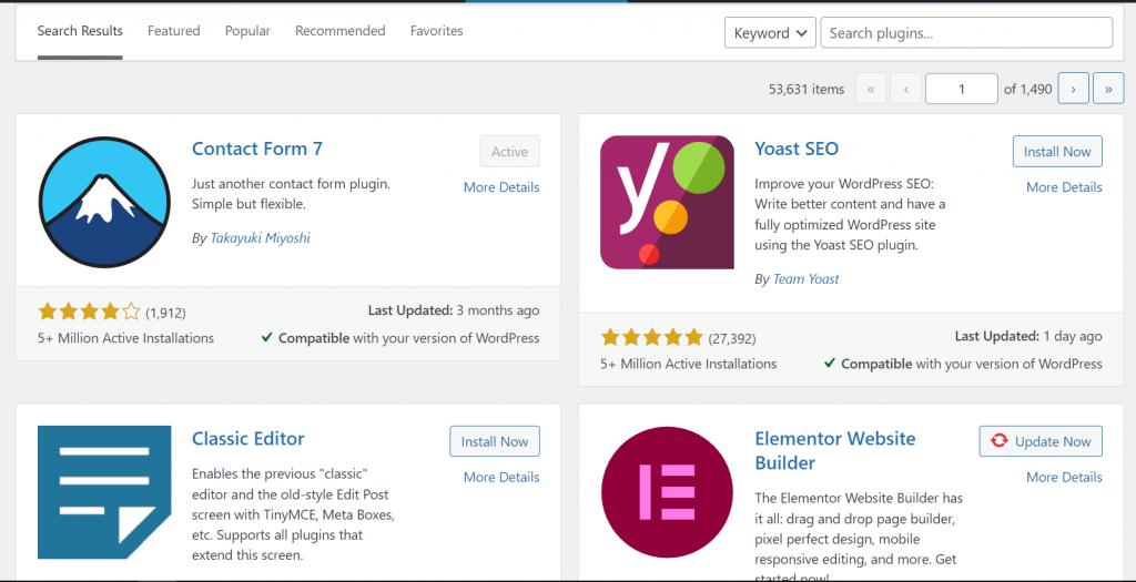 WordPress Repository