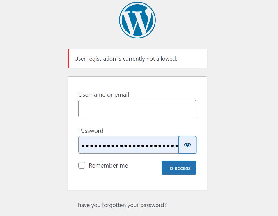 Stop WordPress Registration Spam