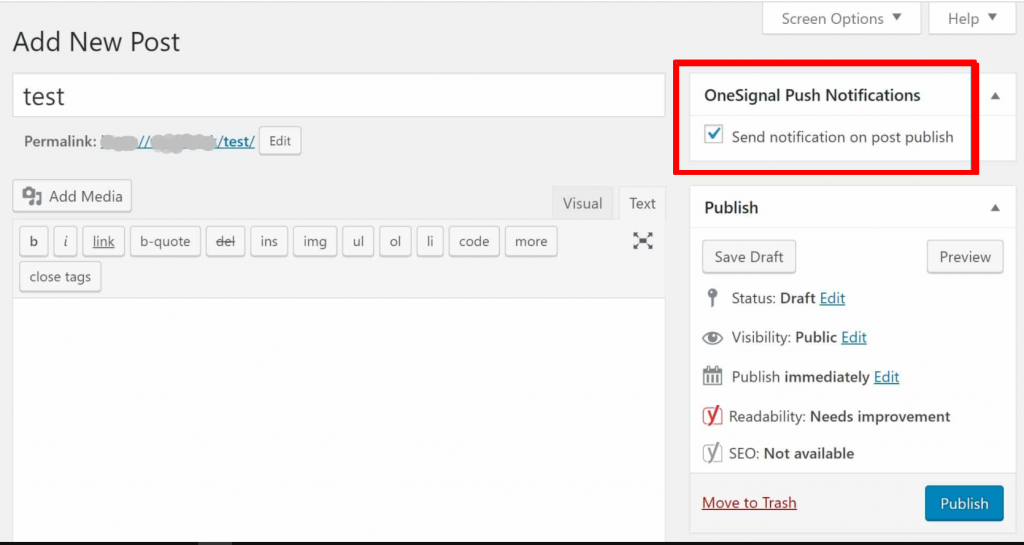 Screenshot 18 2 How To Add WordPress Push Notifications To Your Website