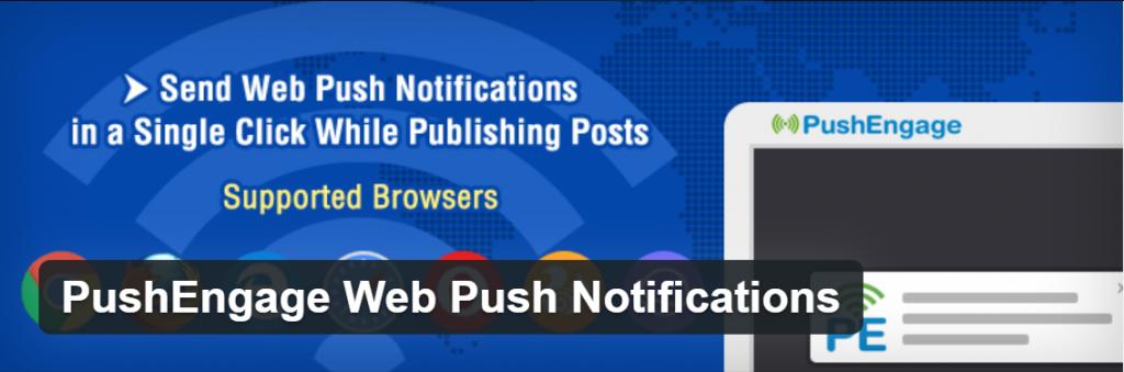 Pushengage WordPress Push notifications plugin