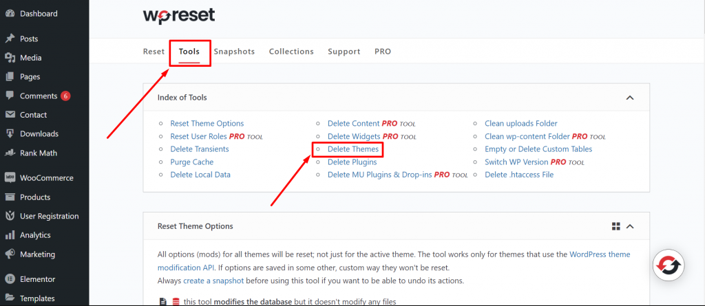 Screenshot 22 How To Easily Reset WordPress & Start Over? [Complete Guide]