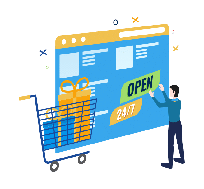 keep your store open 24/7
