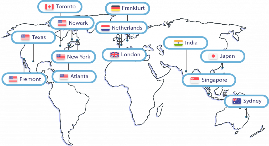 wpoven worldwide data centers